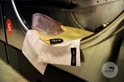 Bora pyžama v prádelně Speed Queen 1