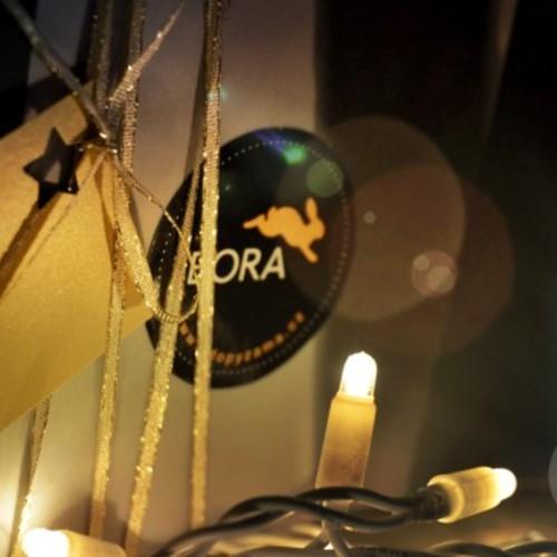 Dárkové balení ve vánočním stylu