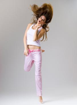 Pyžamové kalhoty Cute Bunny