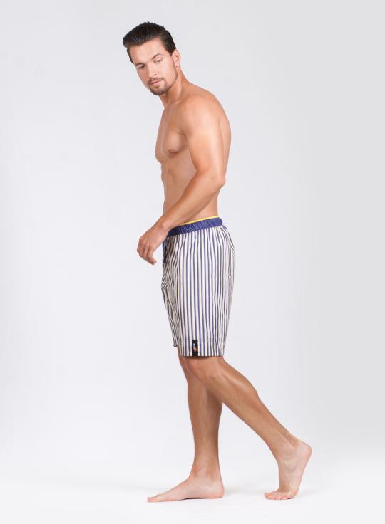 Pánské pyžamové šortky Tommy Stripe, 3