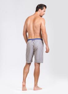 Pánské pyžamové šortky Tommy Stripe, 4