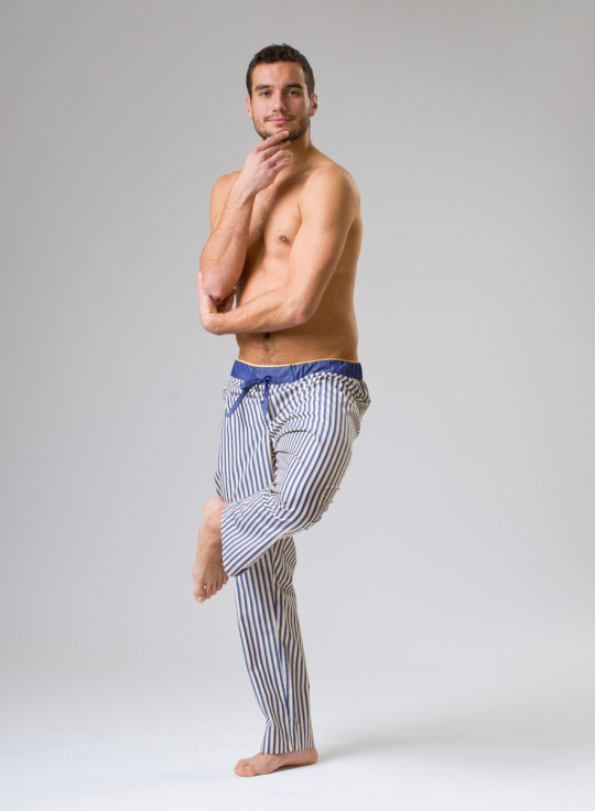 panske-pyzamove-kalhoty-Tommy Stripe 06