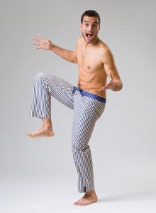 panske-pyzamove-kalhoty-Tommy Stripe 07