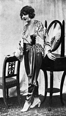 Společenská pyžama okolo 1940, zdroj Pinterest